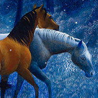 Horses and Fireflies